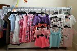 Girls summer clothes 4-5 years bundle - 18 items