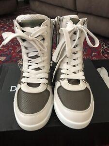NIB Dolce & Gabbana Leather High Top w/ zippers US 10