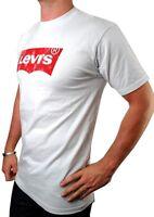 NEW NWT LEVI'S MEN'S PREMIUM CLASSIC GRAPHIC COTTON T-SHIRT SHIRT TEE WHITE