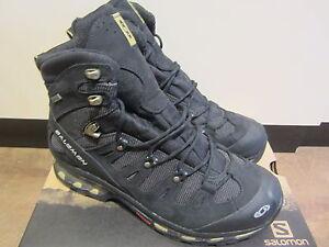 Salomon Stiefel Herrenschuhe Boots Leder Schuhe Winterstiefel schwarz   NEU