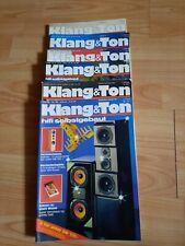 Klang und Ton -  Klang & Ton, Lautsprecher Selbstbau Magazin 1989 - 6 Stück !!!