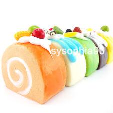 1 Carino Fascino Squishy Morbide Frutta Torta Pane Cellulare Cinghie Portachiavi