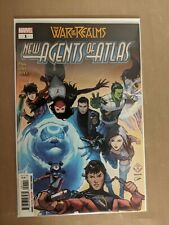New Agents of Atlas #1 1st App Aero, Wave, Luna, Snow Marvel 2019 (NM)
