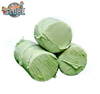 Kids Globe 1:32 Scale ROUND SILAGE BALES - Green Wrapped - Pack of 4 - Farm Sets
