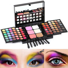 78 Cell Full Color Makeup Eye Shadow Lip Gloss Palette Blushes With Mini Brush
