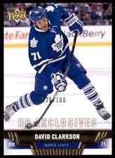 2013-14 Upper Deck Exclusives David Clarkson #375