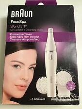 Braun FaceSpa, Mini Epilator Plus Cleaning Brush, Never Opened Box!