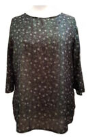 Size 18/20 Plus size *Sofo Curve* Tunic Top In Floral Shima Special Occasions