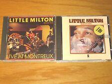 "LOT OF 2 USED BLUES CDs - LITTLE MILTON - ""BLUES'N SOUL"" + ""LIVE AT MONTREUX"""