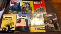1940s BALDWIN LOCOMOTIVE Magazines Railroad Photos Foreign Countries Advertising