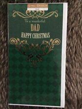 Wonderful Dad Christmas Greeting Card