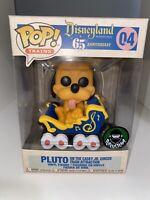 Funko Pop! - Disneyland 65th Pluto on Casey Jr Train #04 + Pop Protector