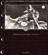 2001 Harley Touring Electra Glide Road King Classic Ultra Parts Manual Catalog