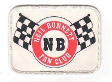 Vintage Neil Bonnett Fan Club Patch