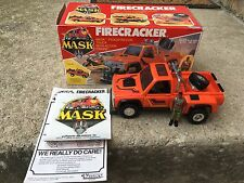 Mask M.A.S.K. Kenner Firecracker Pickup Truck With Box
