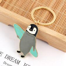 Cute Cartoon Keychain Animal Penguin Key Ring Chain Holder Handbag Pendant Gift