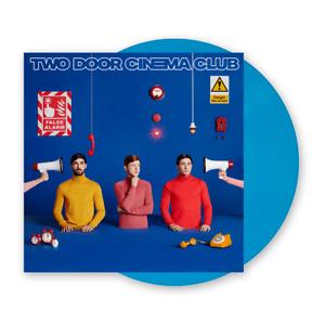 Two Door Cinema Club False Alarm blue vinyl signed limited edition new rare
