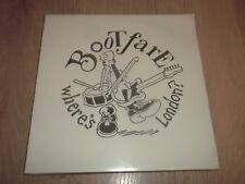"BOOTFARE "" WHERE'S LONDON "" NEW WAVE ROCK VINYL LP NEW & SEALED 1989 BUZZ LP 001"