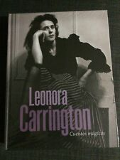 LEONORA CARRINGTON TOP CATALOG SPANISH EXTREMELY RARE ITEM. MEXICAN ART BOOK