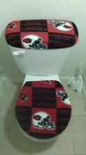 Fleece Fabric Toilet Seat Cover Set (2PC) Valentine's Day Special