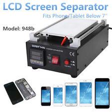 7 Inches Vacuum Pump Mobile Phone LCD Glass Screen Separator Repair Machine UK