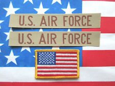 New listing U.S Air Force Usaf Pocket Tape Patches & American Flag Patch (L@K