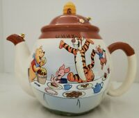 DISNEY Westland Giftware 40-Ounce Ceramic Teapot, Winnie the Pooh Party #19631