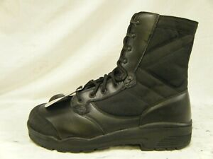 British Army Issue Combat Para Leather Steel Toe Cap High Leg Boots Size 12 L 46