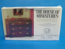 Dollhouse  House of Miniatures Chippendale 3-drawer chest kit  #2  #40011