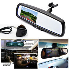 "4.3"" Auto Dimming TFT LCD Rear View Mirror Monitor w/ Rear Camera Night vision"