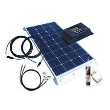 100Watt Solaranlage Komplettpaket, autark, Solarenergie, für Wohnmobile, Camping