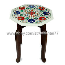 Marble Side Tables Marble Inlay End Tables Lamp Table For Living Room