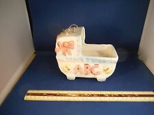 "Vintage Baby ""Rock-A-Bye Baby"" Planter Music Box"