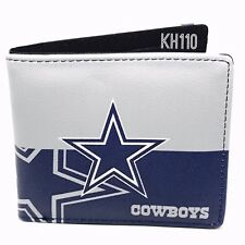 Dallas Cowboys NFL Men's Printed Logo Leather BiFold Wallet