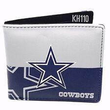 Dallas Cowboys NFL Men's Printed Logo Leather Bi-Fold Wallet