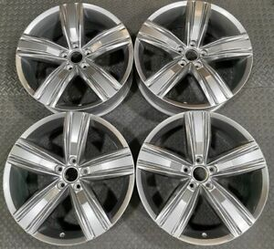 Stunning Set 19x7 ET43 GENUINE OEM VW Tiguan 5NA601025Q Victoria Falls Alloy