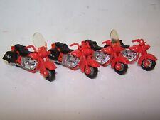 4 MJ7 Matchbox - MB50 Harley Davidson MOTORCYCLES - Red - PMG