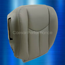 2003 2004 2005 2006 Chevy Tahoe Suburban Driver Bottom Leather Seat Cover Gray Fits 2004 Avalanche 2500