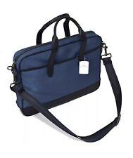 New COACH F31277 Men's Hamilton Bag, Cordura® Nylon Leather, Denim $350 NWT