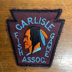 Vintage Carlisle Pennsylvania Fish and Game Association Patch