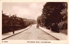 East London, LEYTONSTONE, Wallwood Road, near Walhamstow - Real Photo.