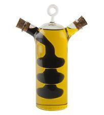 Sabatier MAISON 2 in 1 OIL and VINEGAR Glass BOTTLE Cruet Duo DRIZZLER