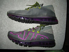 NEW Mens Nike Air Max Flair Up Tempo Running Gray Purple Volt AH9711-001 Sz 11.5