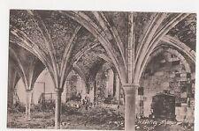 Waverley Abbey Crypt Postcard, A772