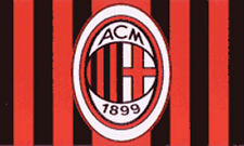 AC MILAN FLAG 5' x3' Official Italian Italy ACM Football Club Team Soccer Flags