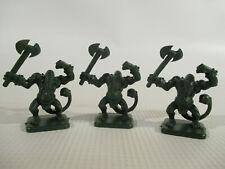 HEROQUEST Lot of 3 FIMIR Fantasy Miniature Figures by Milton Bradley!!
