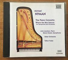 Michael Nyman - The Piano Concerto CD Naxos Records