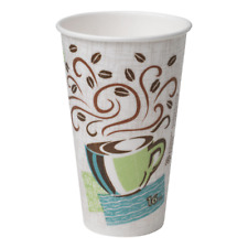 Dixie Perfectouch Insulated Paper Cups Coffee Haze Size 16oz 500 Count