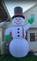 20Ft Snowman Airblown Christmas Inflatable Yard Decor Gemmy