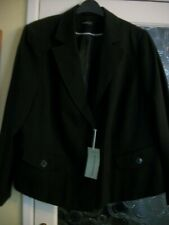 Evans black suit jacket - size 24